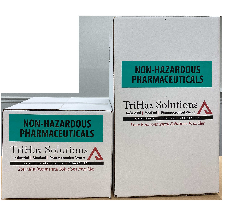 non-hazardous waste box